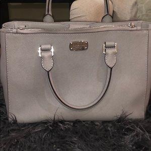 Gray Michael kors purse